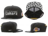 Gorra Los Angeles Lakers Mitchell&Ness [Negra]