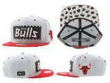 Gorra Chicago Bulls Mitchell&Ness [Blanca]