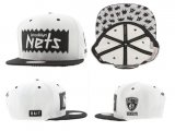 Gorra Brooklyn Nets Mitchell&Ness [Blanca]