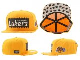 Gorra Los Angeles Lakers Mitchell&Ness [Amarillo]