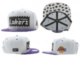 Gorra Los Angeles Lakers Mitchell&Ness [Blanca]