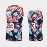 Dwyane Wade, Miami Heat - Mitchell & Ness Floral Pack