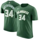 Giannis Antetokounmpo, Milwaukee Bucks - Sleeve Edition
