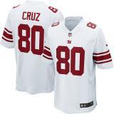 Victor Cruz, NY Giants - White/Red