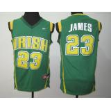 LeBron James, St. Vincent St. Mary Irish [Green]