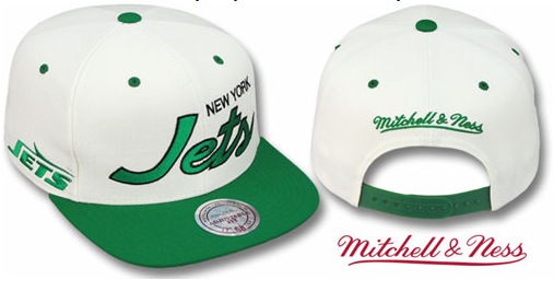 Gorra New York Jets [Blanco]