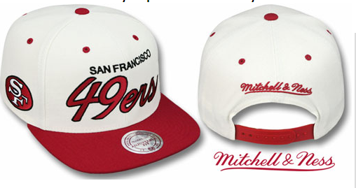 Gorra San Francisco 49ers [Blanco]