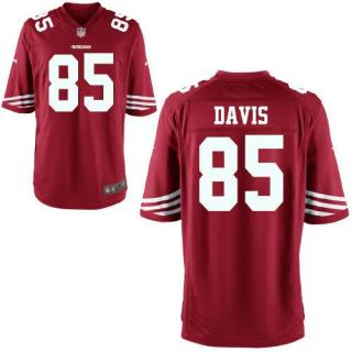 Vernon Davis, San Francisco 49ers - Red