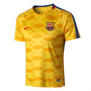 click on image to enlarge Camiseta Entrenamiento FC Barcelona 2017 18 -  Amarillo e68013103b360