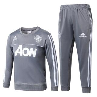 click on image to enlarge Chándal Manchester United-Gris 2017 2018-NIÑO 667a6c4972c09