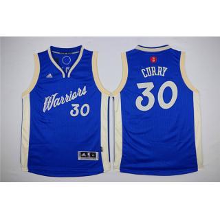 Stephen Curry Golden State Warriors Azul Blanca Ninos