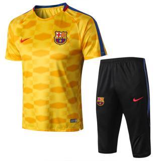 489ad6ab2432e click on image to enlarge Kit Entrenamiento FC Barcelona 2017 18 - Amarillo