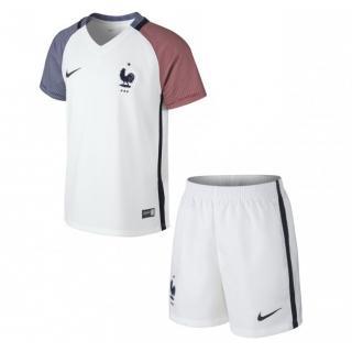 click on image to enlarge Kid Francia niño 2ª equipacion Euro 2016 af195bd47a8e2