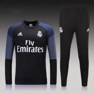 fc57f2a8f2610 click on image to enlarge Chándal Real Madrid-Negro 2016 2017-NIÑO