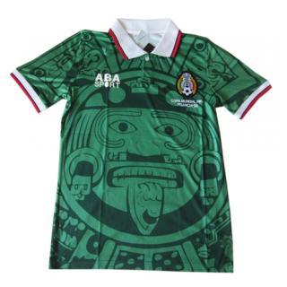 Camiseta Mexico Retro Mundial 1998  reydecamisetas-4324  - €16.50 ... 3cfcc486bc6f0