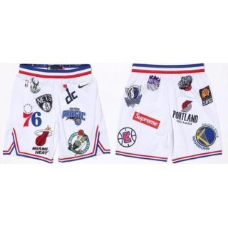 click on image to enlarge Pantalones Supreme x Nike x NBA (Blancos) 4eb4ce9e15fd8