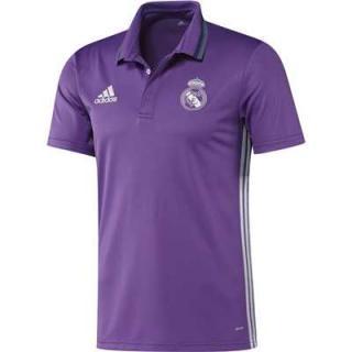 click on image to enlarge Polo Real Madrid Entrenamiento 2016 17- Morado  ddc695878db
