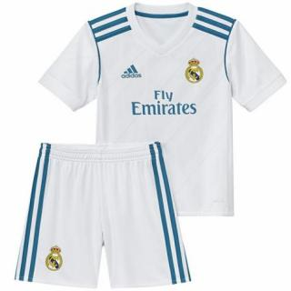click on image to enlarge Real Madrid 1a Equipación NIÑO 2017 18 0b174f4b4f3