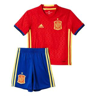 click on image to enlarge Kid España niño 1ª equipacion Euro 2016 12d92395e59b1