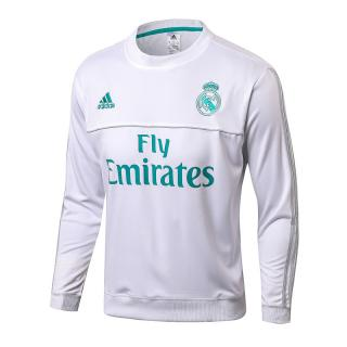 click on image to enlarge Sudadera Real Madrid 2017 18-Fly Blanca c99d9ef3c21a9